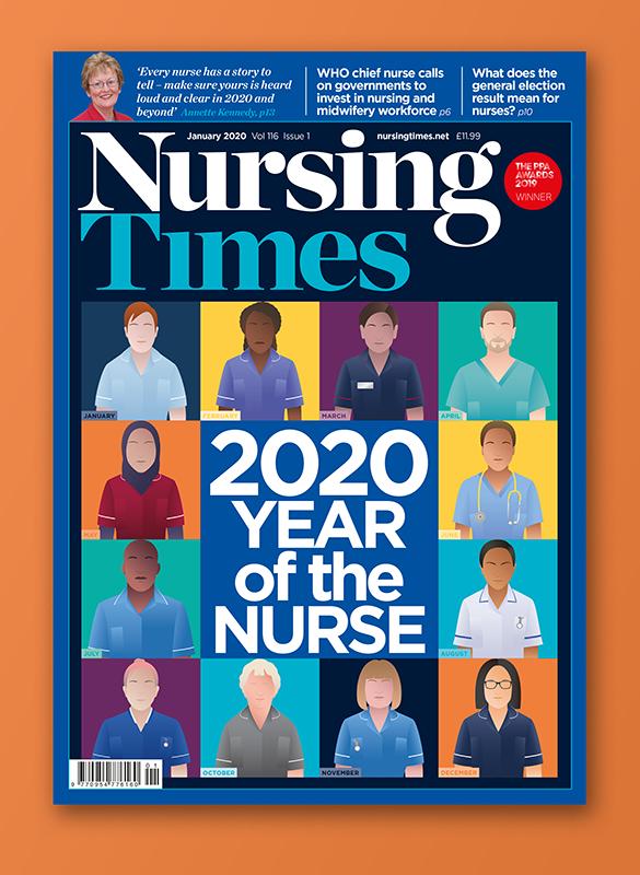 Francesca Corra Medical Illustration Nursing Time cover